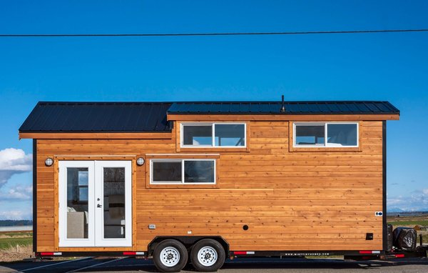 Comprised of a 26' x 8.5' by 8.5 foot wide trailer, this tiny home RV is ready for the road.