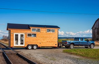 This Double-Loft Tiny Home Is Move-In Ready For $75K