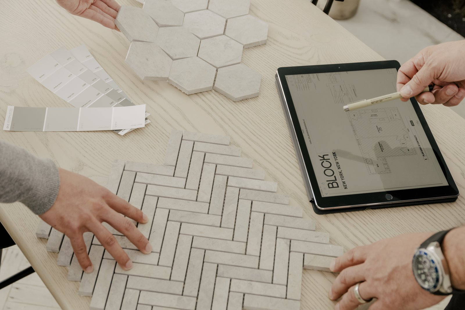 Clients who use Block select from an established material palette for their bathroom renovations, which helps reduce costs.  Photo 5 of 11 in 6 Design Apps and Services You Should Know for Your Next Renovation