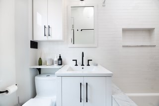 An example of a bathroom recently completed by Block.