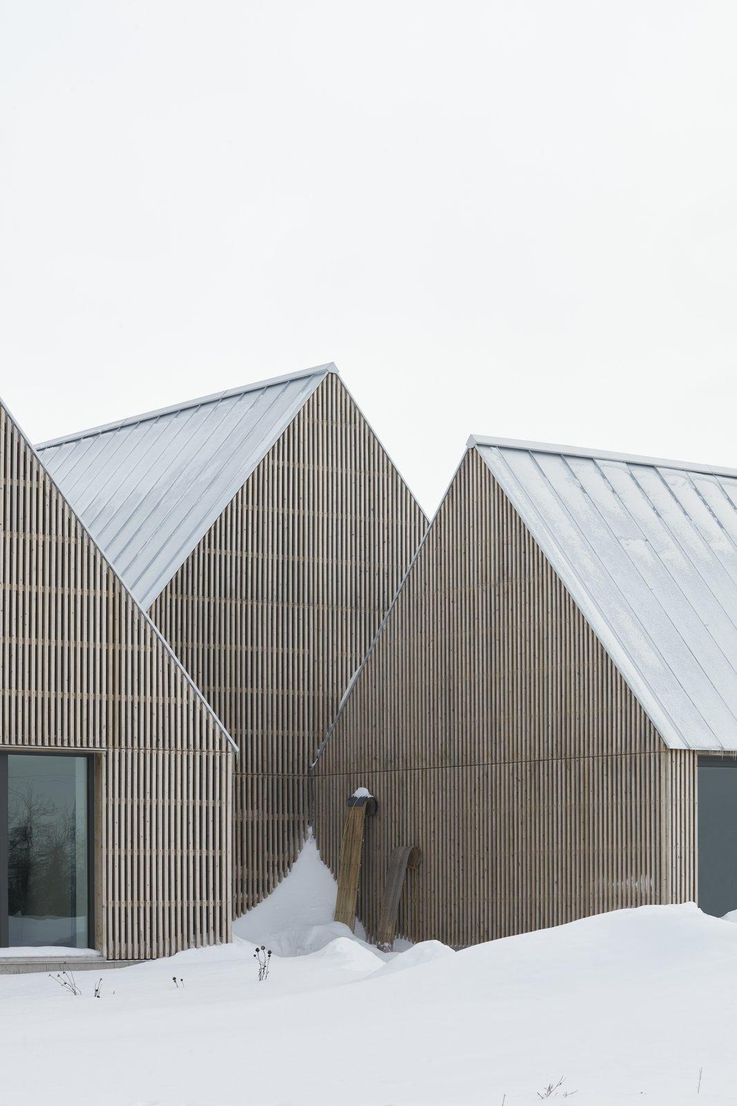 Hatley House standing seam metal gable roof