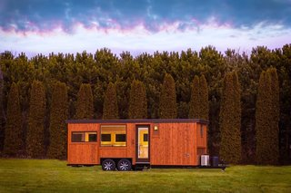 An efficient, well-planned layout makes the Vista Boho trailer comfortable for longer trips.