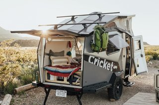 Taxa's 2019 Cricket camper is designed for active travelers and starts at $29,000.