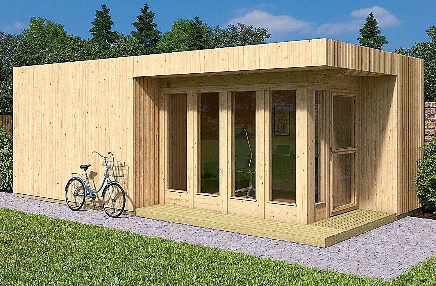 The Arlanda XXL from Allwood is available on Amazon for $10,695.  Photo 1 of 7 in 7 Tiny Homes You Can Buy on Amazon