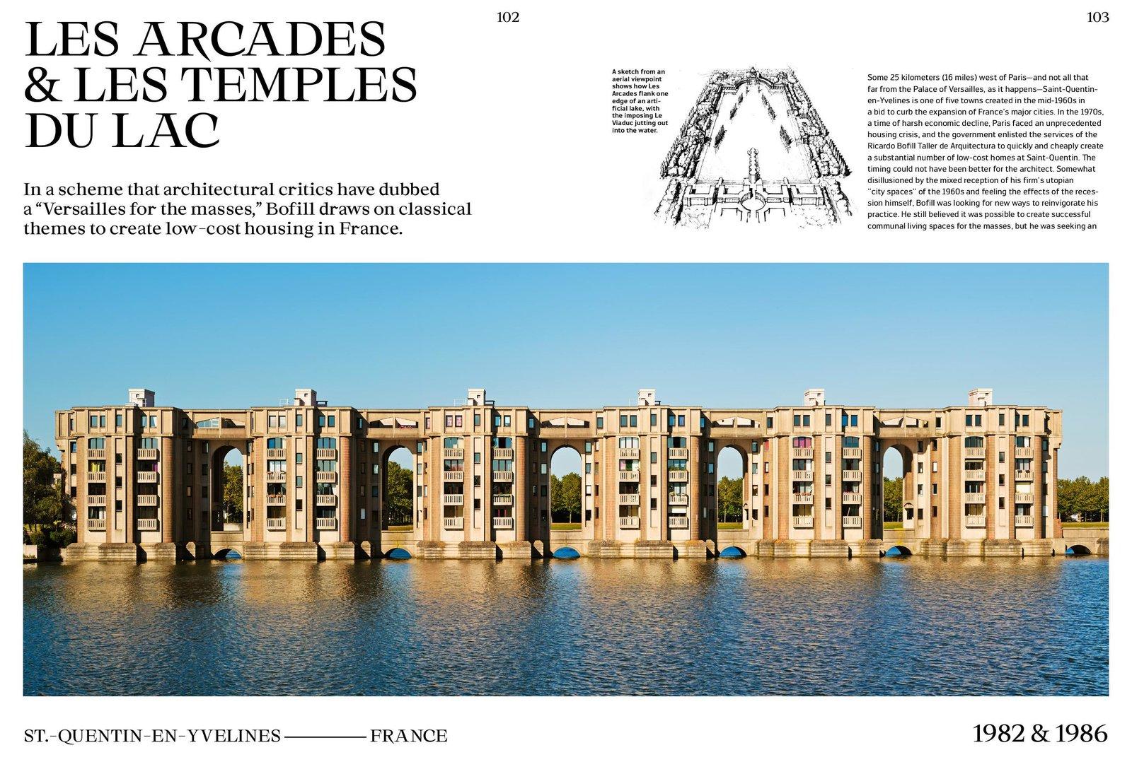 Les Arcades & Les Temples du Lac (1982 & 1986) by Ricardo Bofill