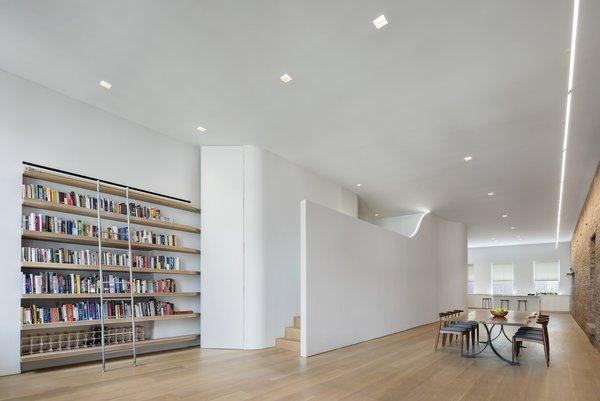 A Hidden Mezzanine Keeps This Narrow SoHo Loft Looking Crisp