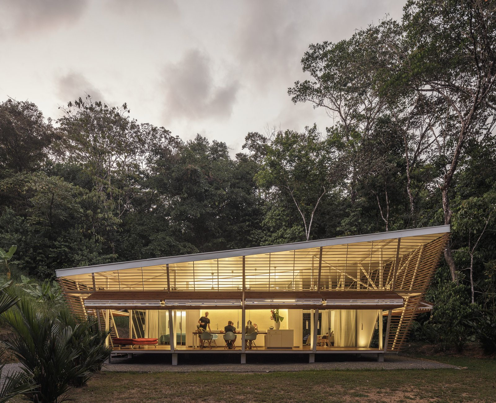 No Footprint House A-01 prefab Costa Rica exterior