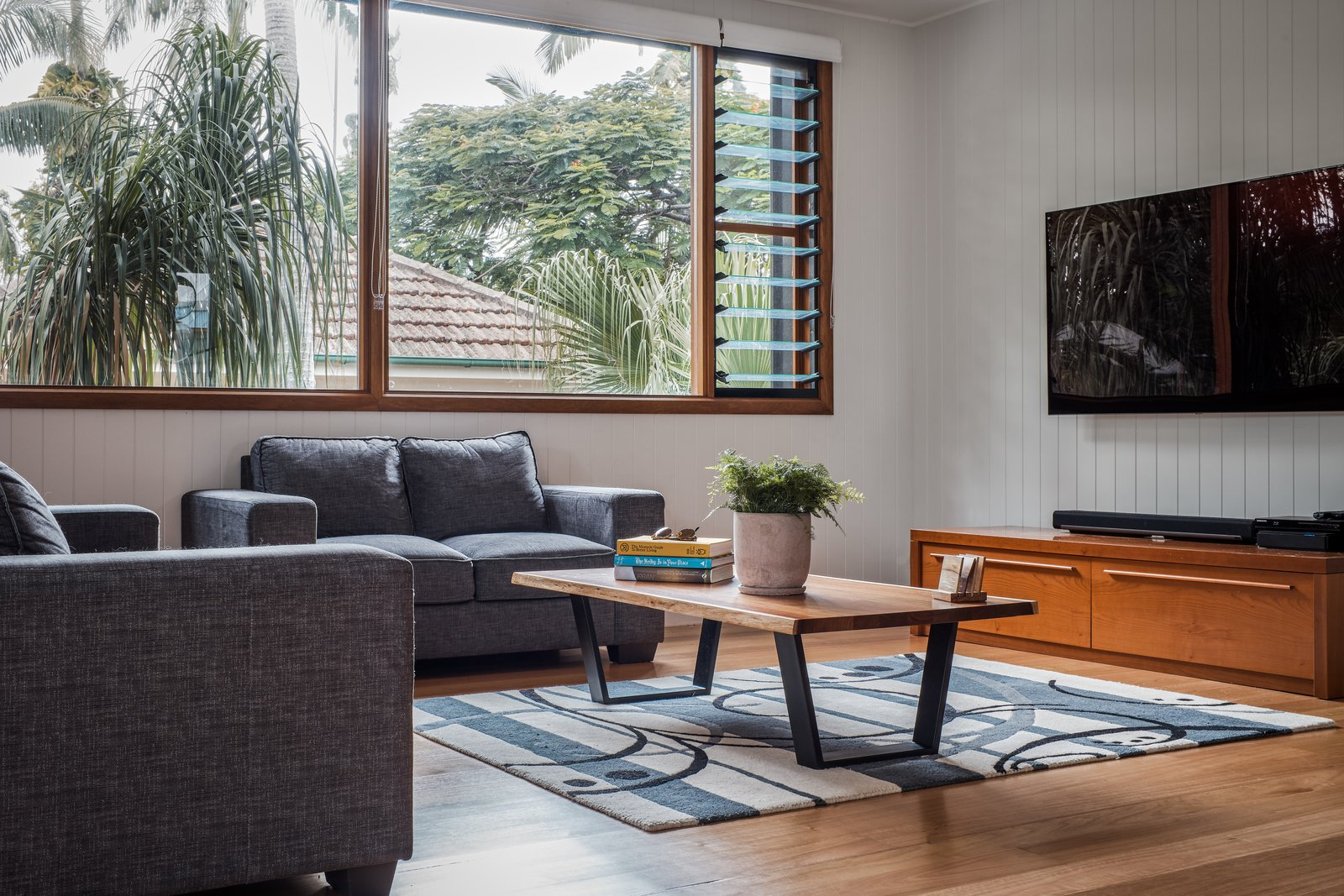 Keith Street House living room