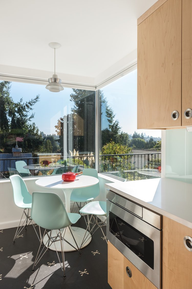 Seattle midcentury renovation kitchen