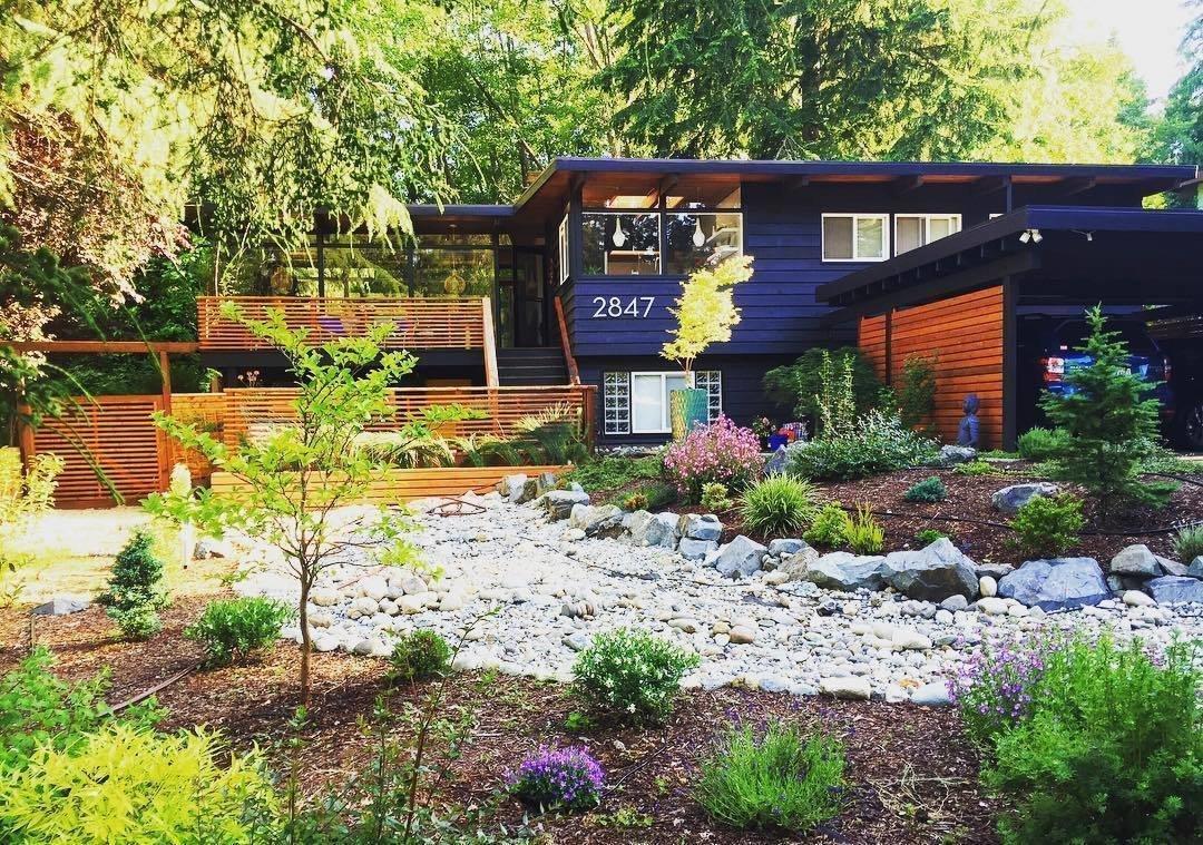 Seattle midcentury renovations exterior