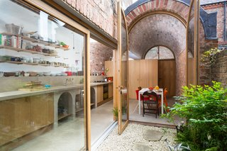 A Barrel-Vaulted Brick Addition Makes This English Home Feel Unexpectedly Airy
