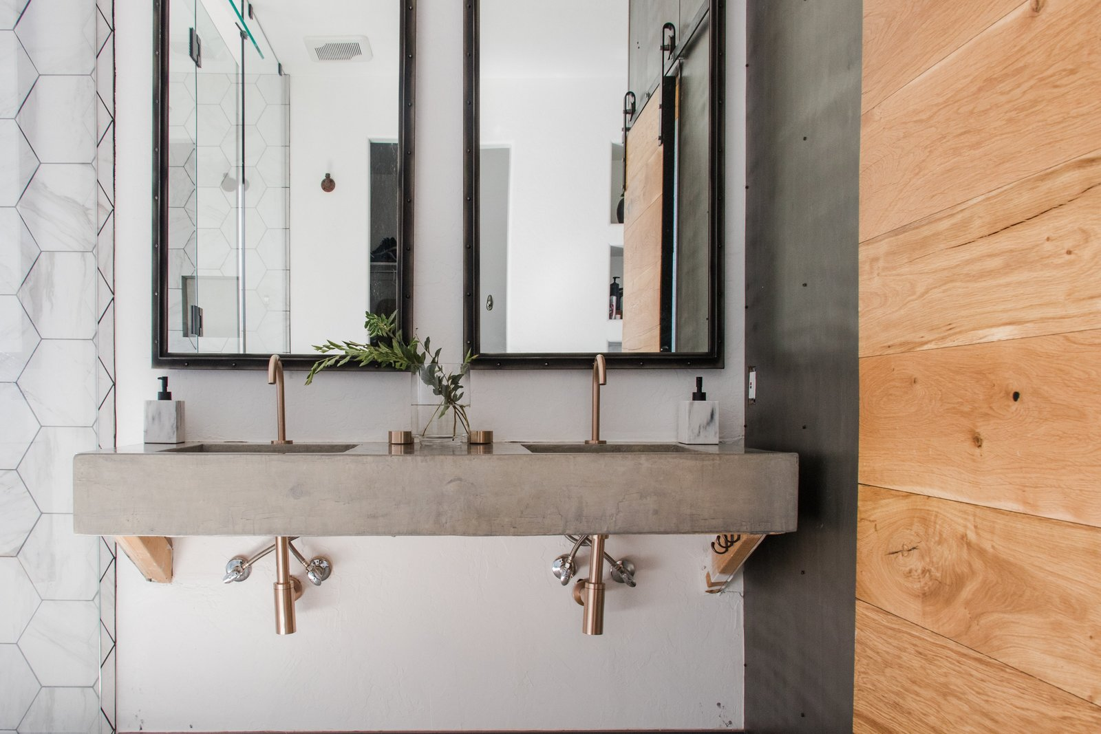 An wheelchair-accessible sink designed by Maegan Blau of Blue Copper Design.  Photo 6 of 9 in Just How Inclusive Is Accessible Design?