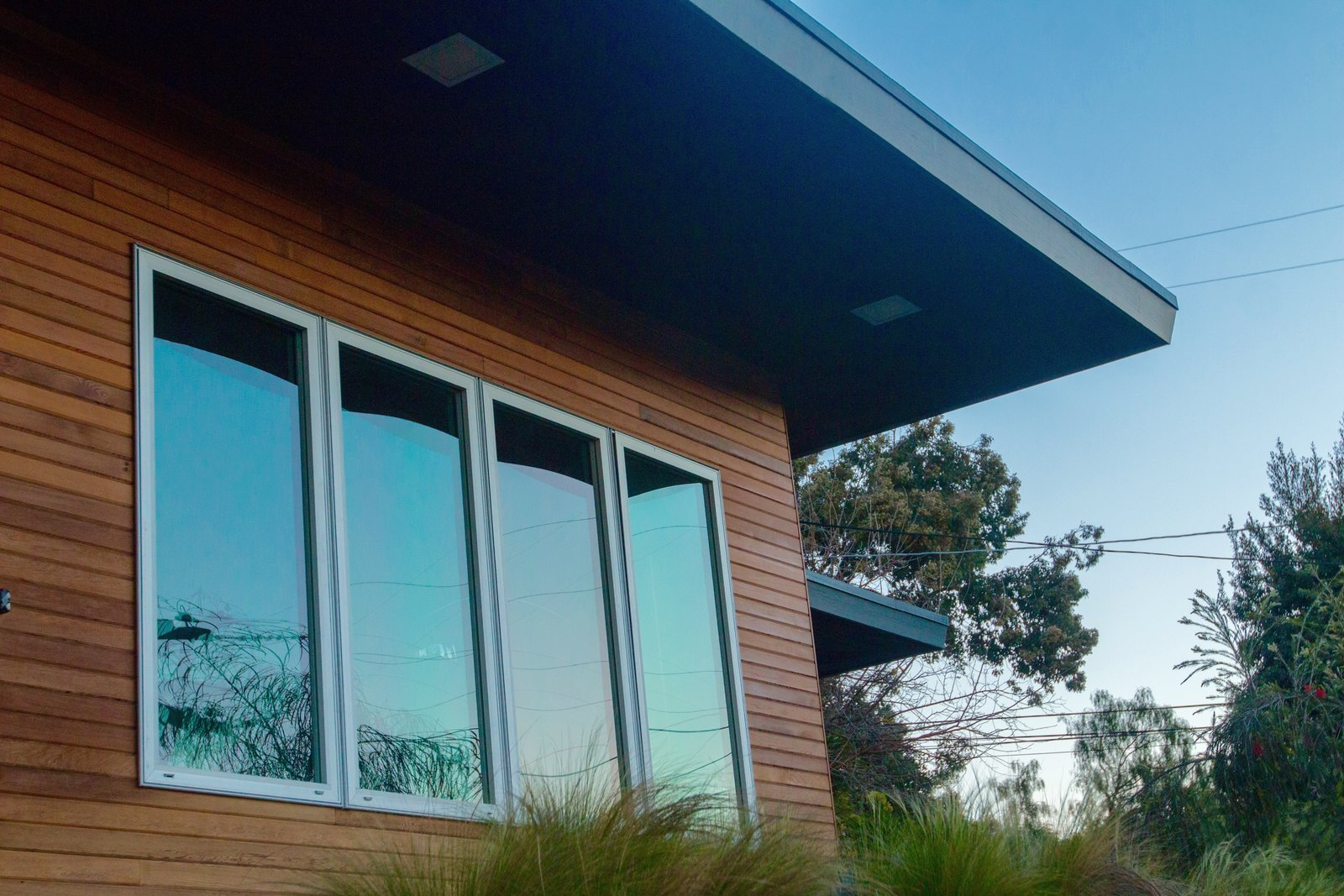 Exterior: Dual Glazed Aluminum Windows  Edgewood