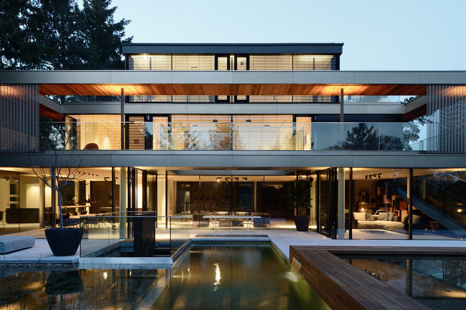 South view from the pool  33 by Architect Zoran Bodrozic