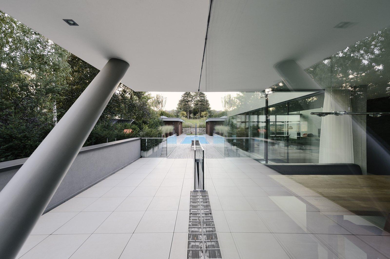 View toward the pool  H_O by Architect Zoran Bodrozic