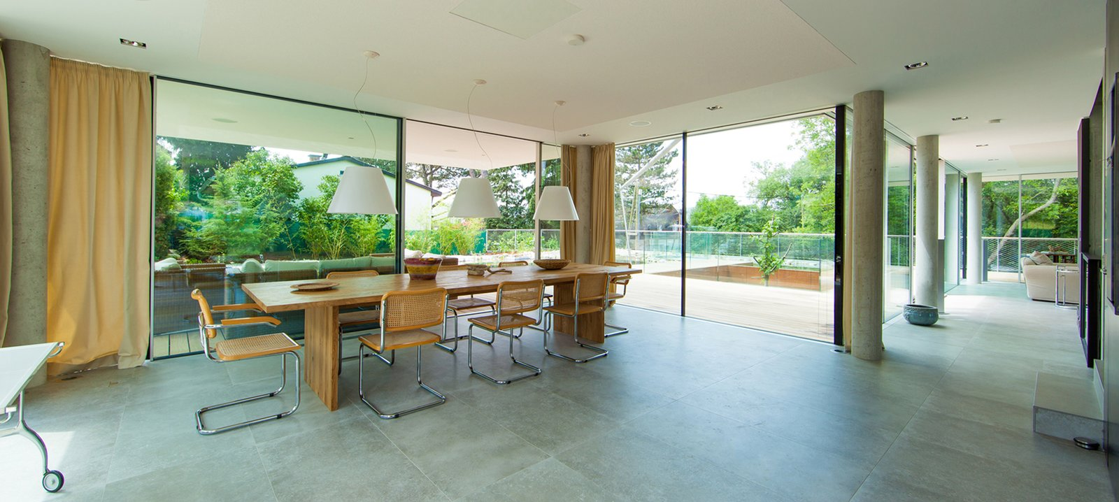 Dining room  360° Villa by Architect Zoran Bodrozic