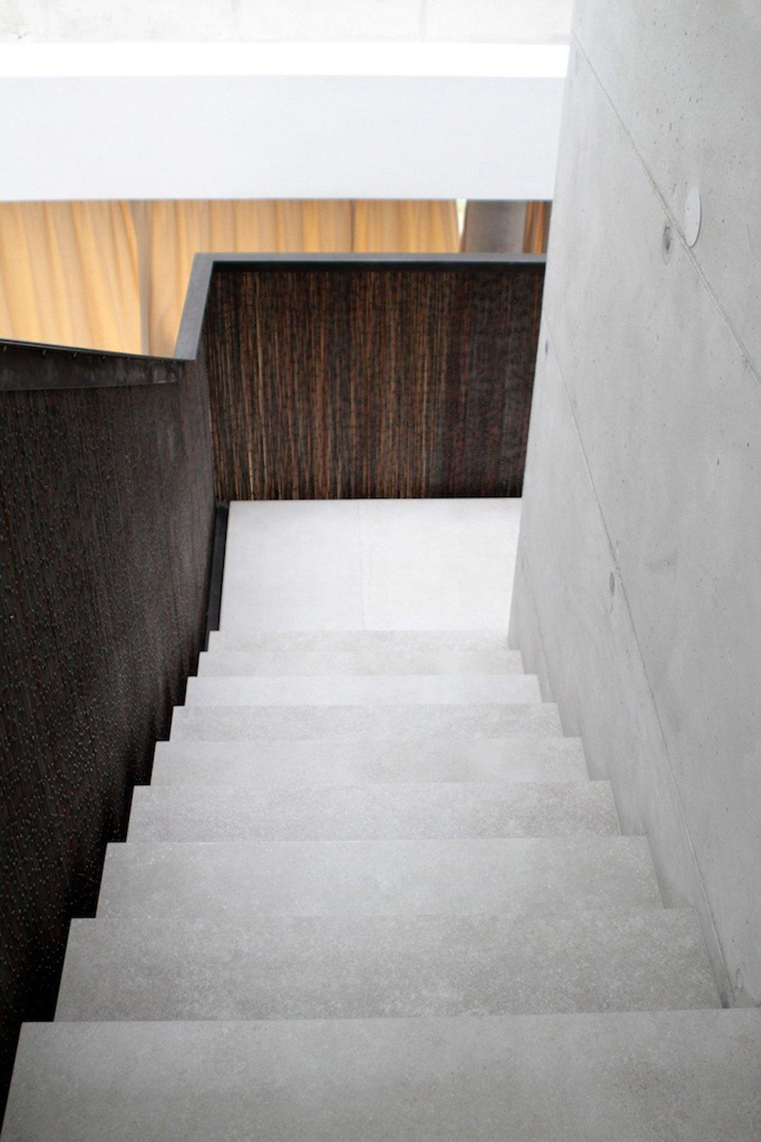 Stairs detail  360° Villa by Architect Zoran Bodrozic