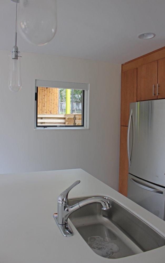 kitchen  Neon in North Carolina by Suzane Reatig Architecture