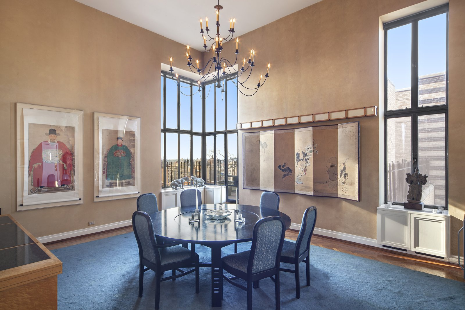 Dining Room with City Views  Magical Manhattan Penthouse