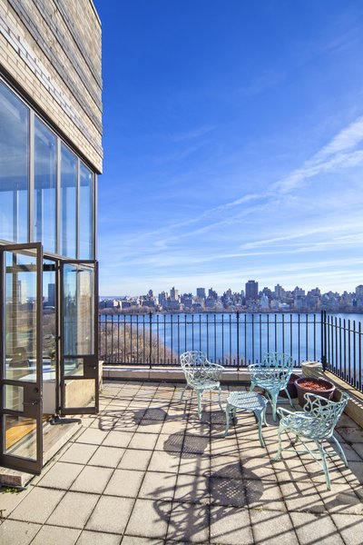 Daytime View of the Reservoir  Magical Manhattan Penthouse