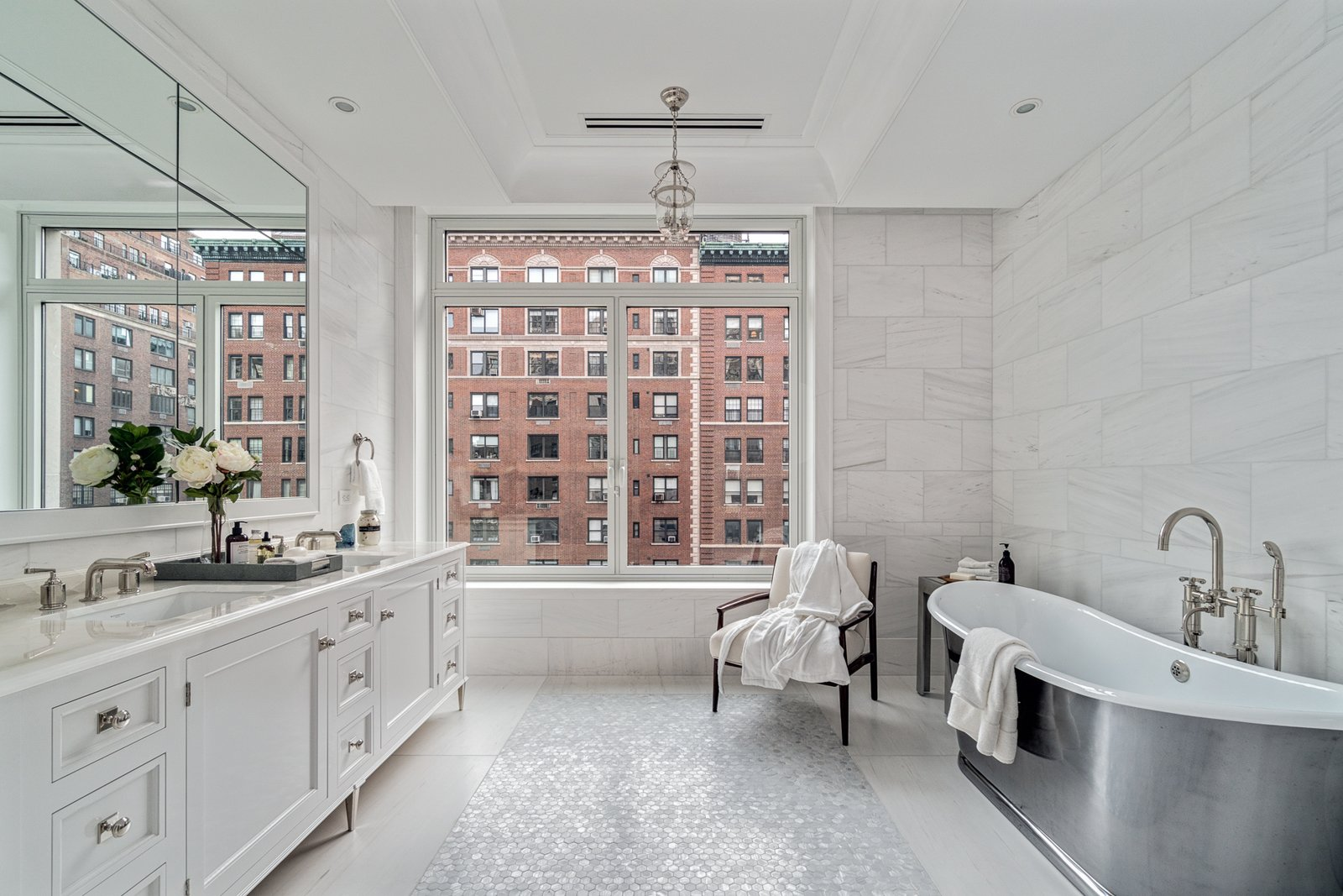 Master bath - with a view  Grand for Entertaining