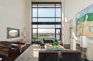 NYC Duplex with Water Views in Peter Marino-Designed Condo