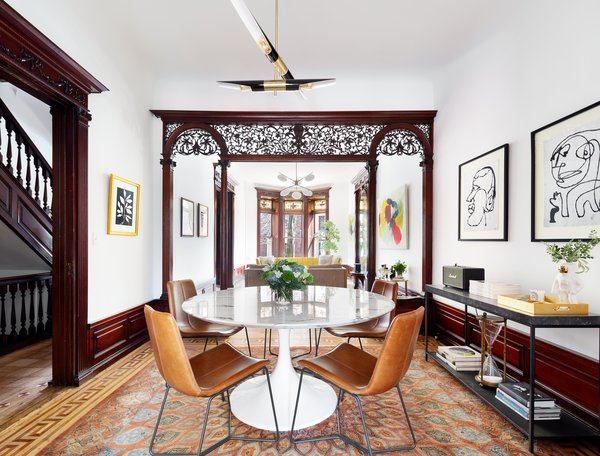 A Stylishly Renovated 19th-Century Brooklyn Row House Lists For $3.2M