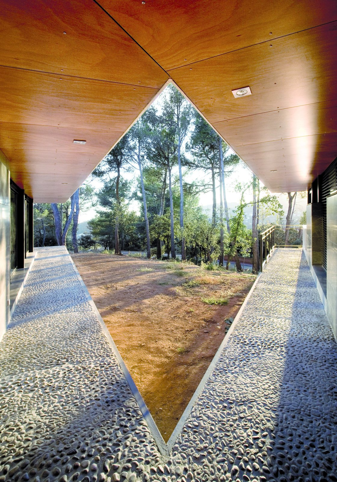 V embracing the woods  Rambed House by Katherine Bedwell