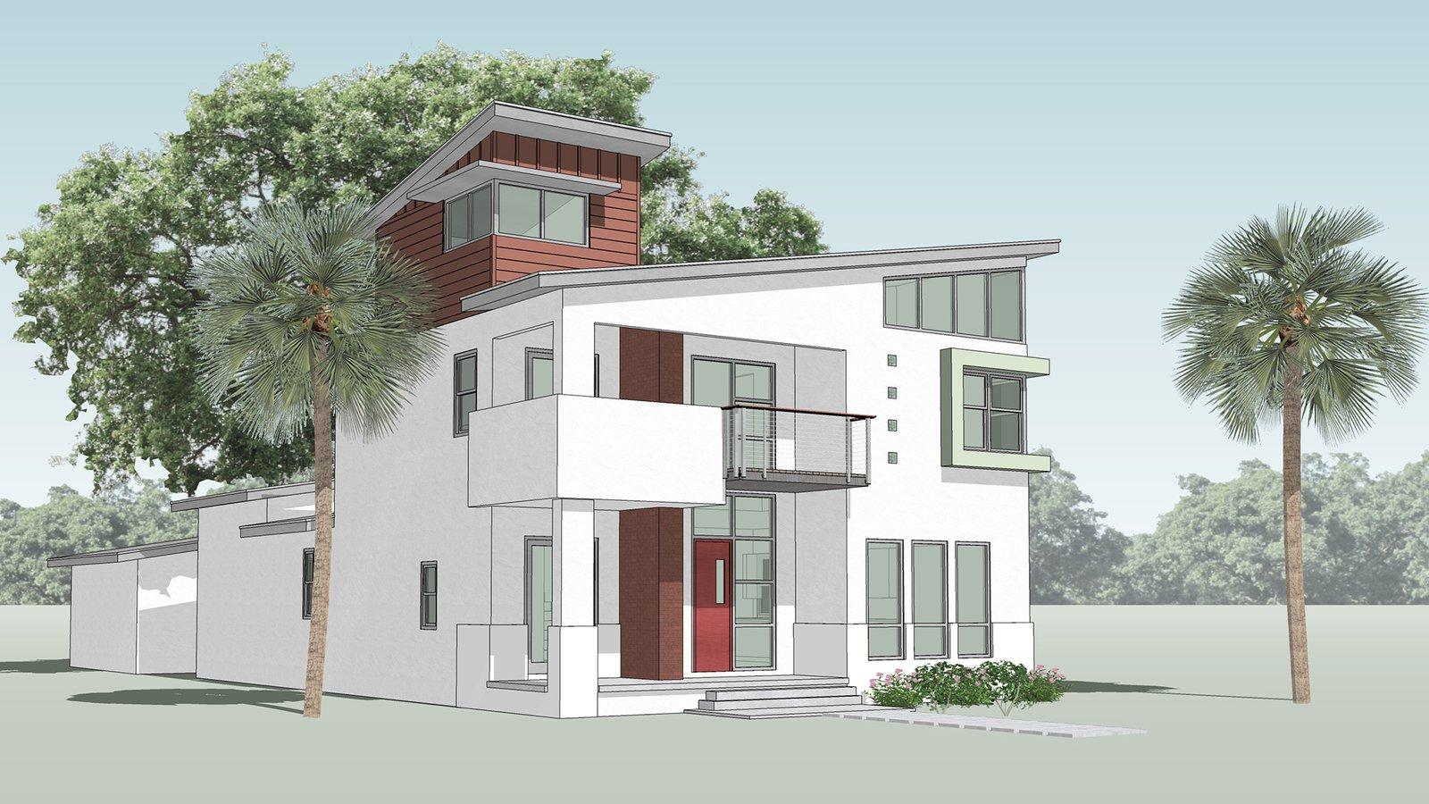 Neo Mid Century Modern Home Tampa