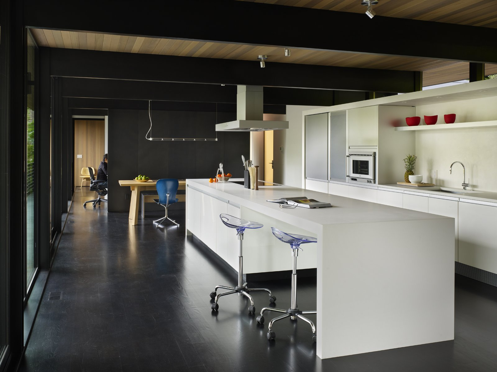 Kitchen & Dining  Wood Block Residence by chadbourne + doss architects