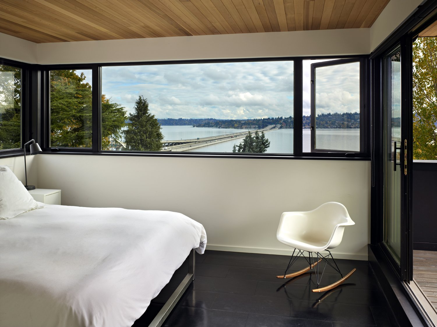 Master Bedroom  Cycle House by chadbourne + doss architects