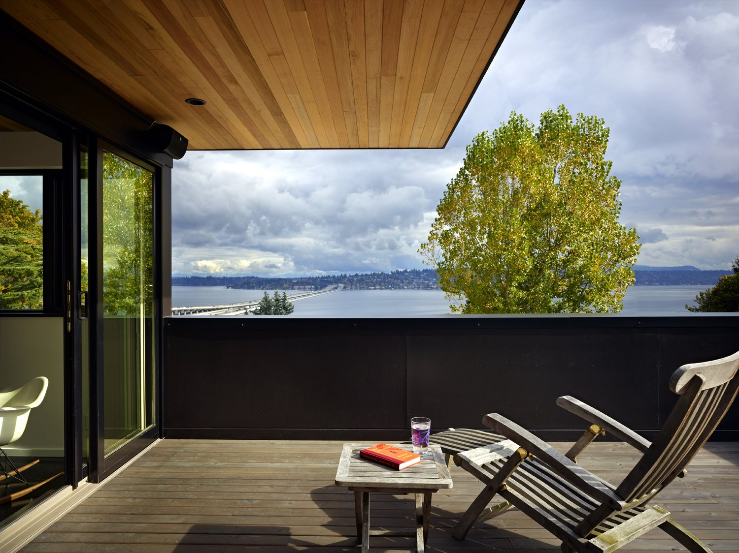 Roof Deck  Cycle House by chadbourne + doss architects