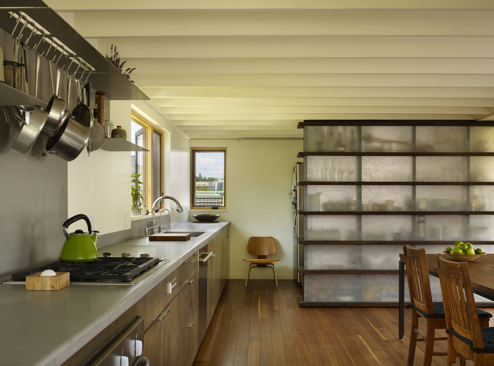 Kitchen & Dining Room  Lobster Boat House by chadbourne + doss architects