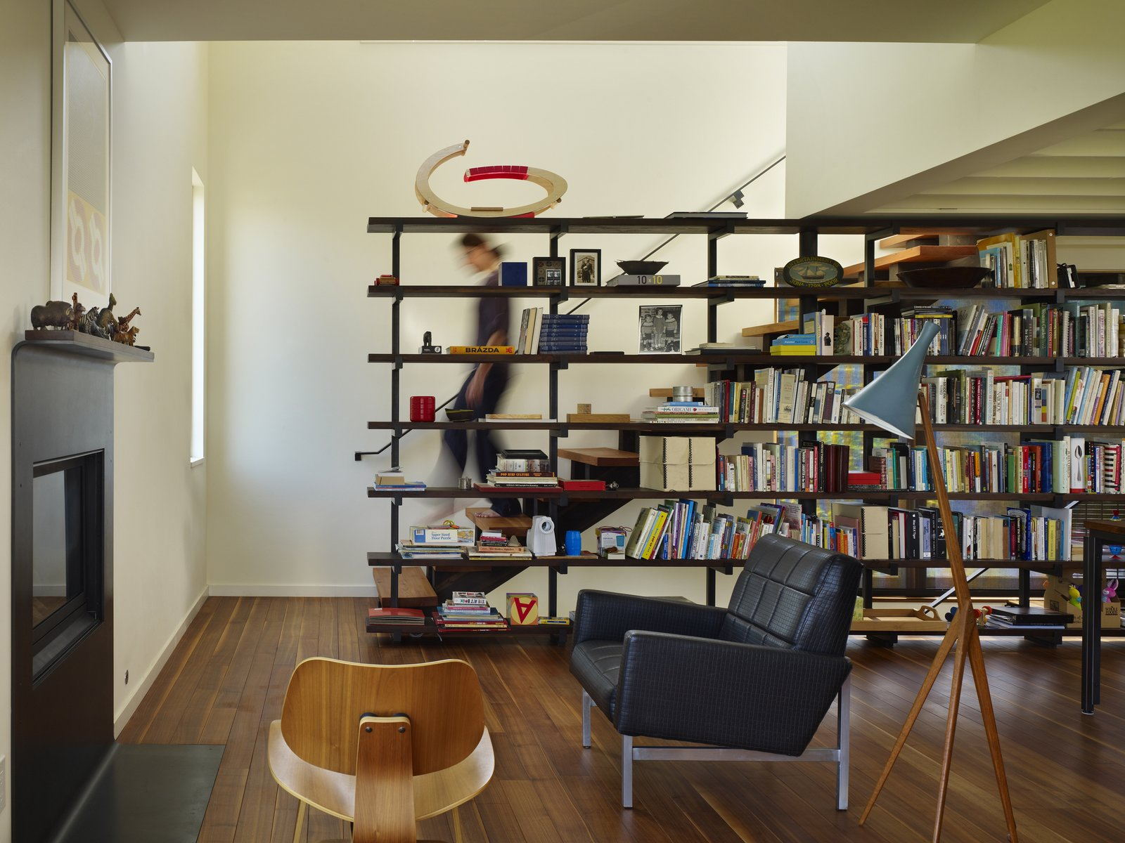 Living Room  Lobster Boat House by chadbourne + doss architects