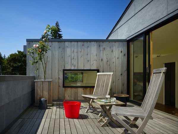 Roof Deck  Lobster Boat House by chadbourne + doss architects