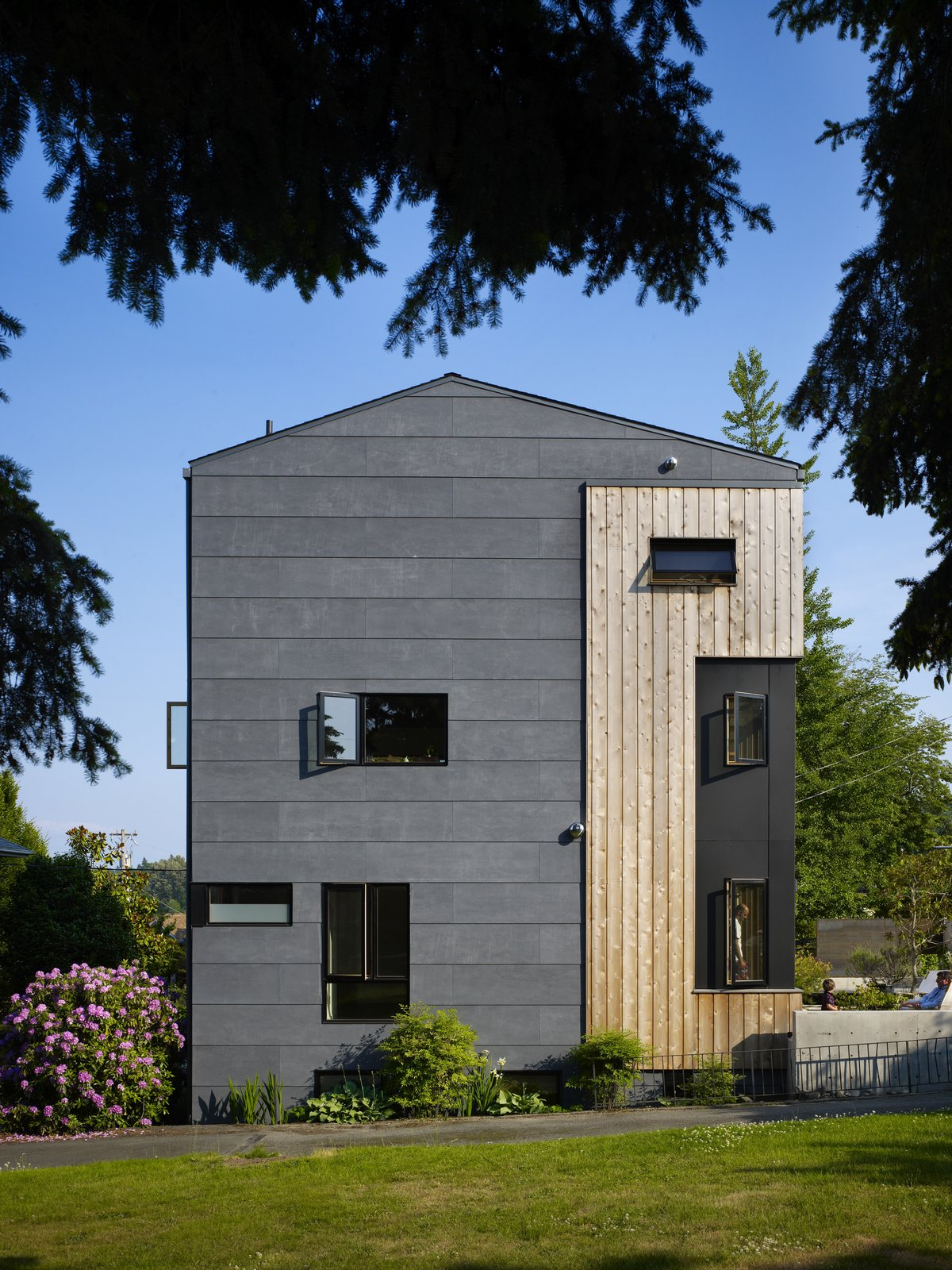 Building Elevation  Lobster Boat House by chadbourne + doss architects