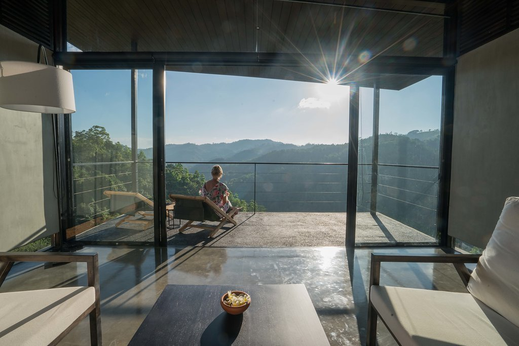 Balcony opening up to the great outdoors  Santani Wellness Resort and Spa