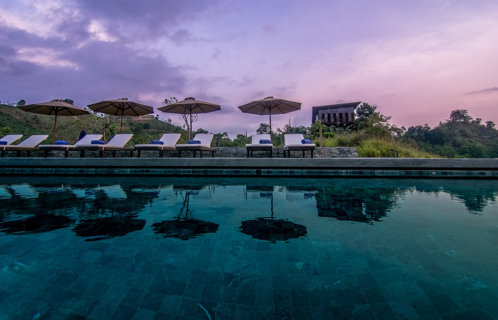 Outdoor pool  Santani Wellness Resort and Spa