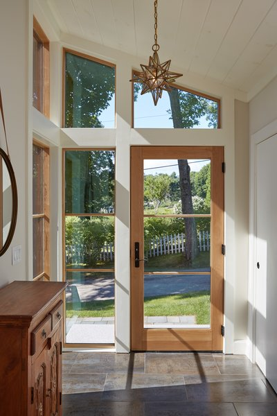 Entryway Addition  Midcentury Makeover
