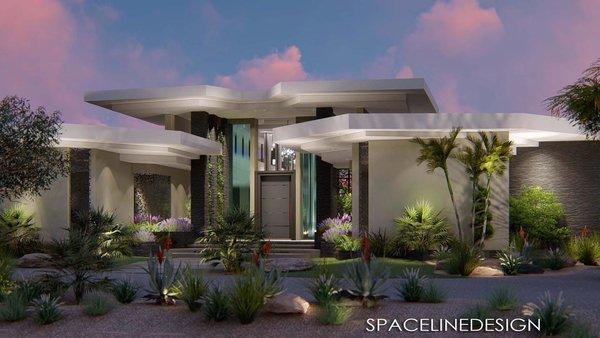 New contemporary home design in Arizona