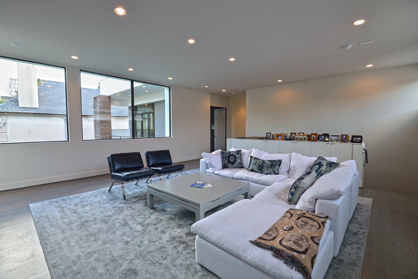Upstairs Living Room  Upper Kirby by John Leggett + On Point Custom Homes