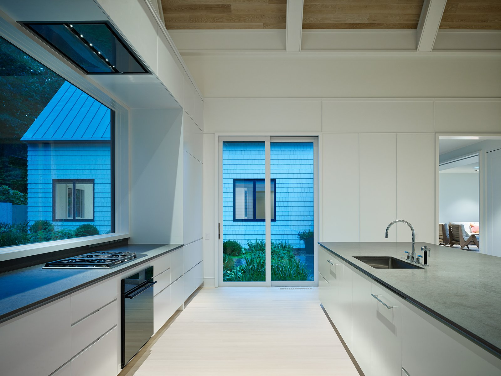 Kitchen  New Buffalo Residence by Booth Hansen