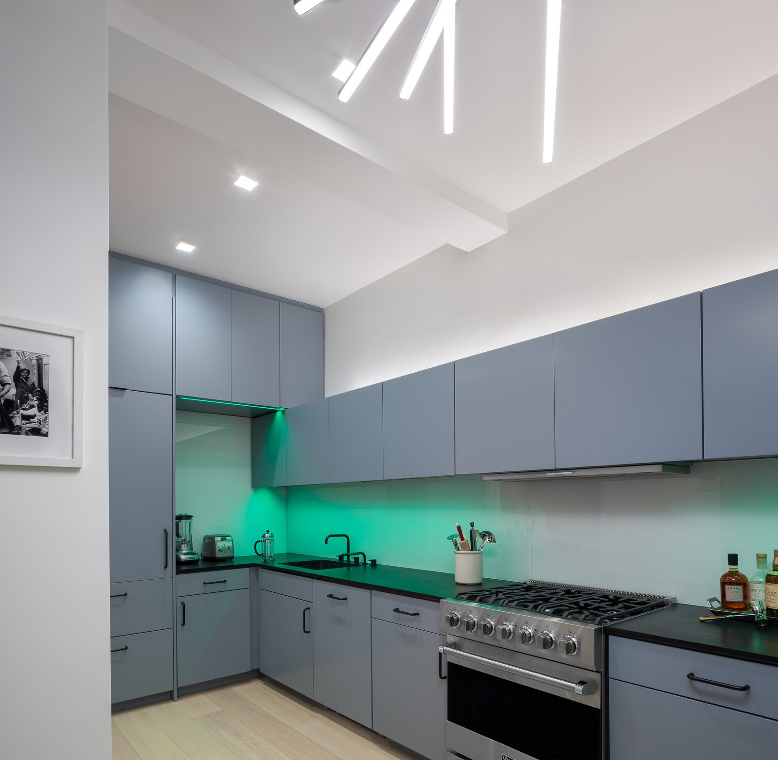 Undermount Lighting For Kitchen Cabinets: Art And Light By Andrew Mikhael Architect