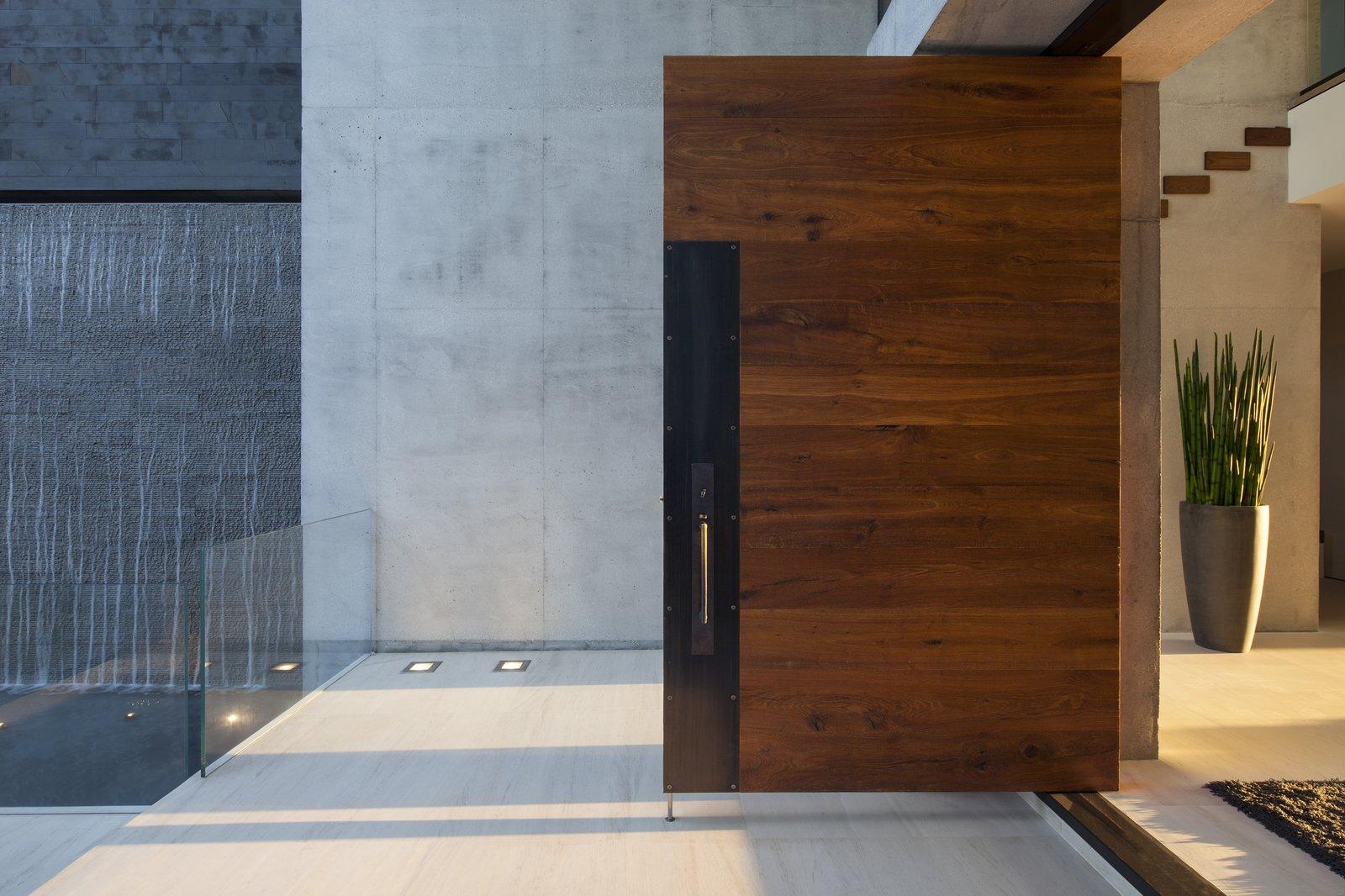 Front Entrance  Casa Clara by Choeff Levy Fischman