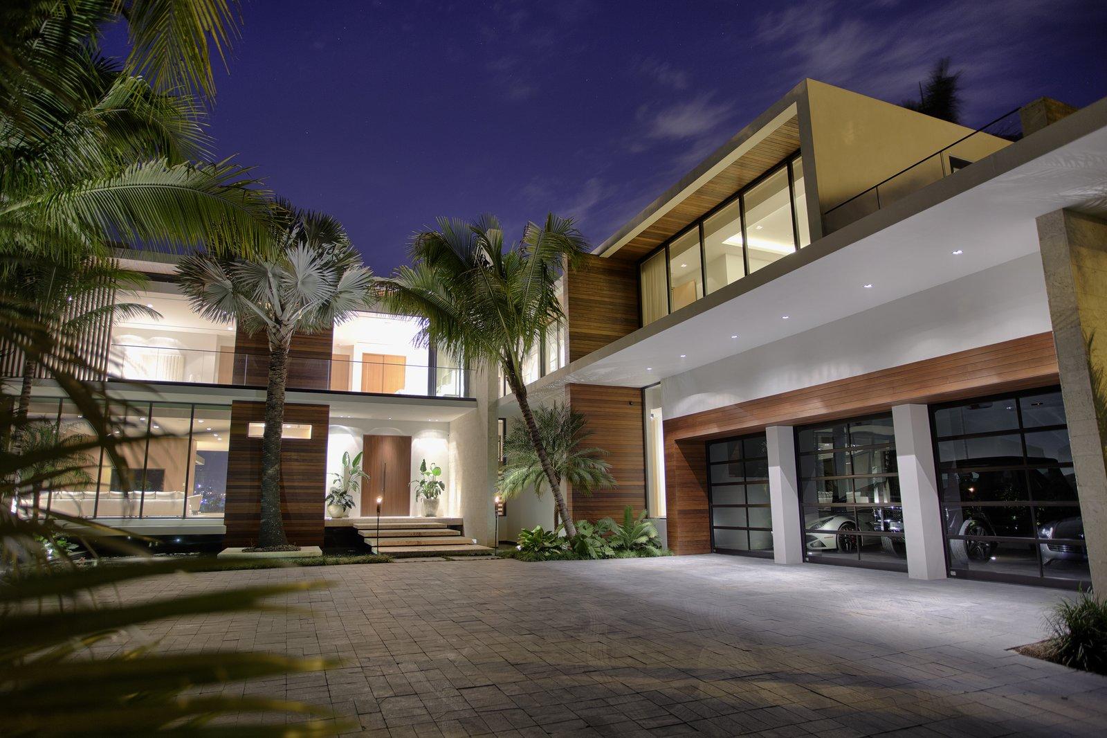 Casa Ischia Modern Home In Miami Beach Florida By Choeff