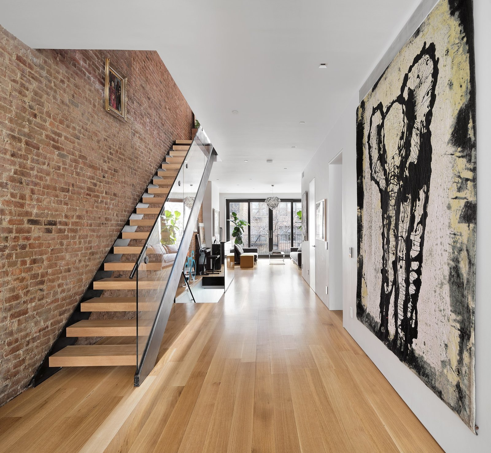 Completely open floor plan designed to optimize light and air  Uptown Loft