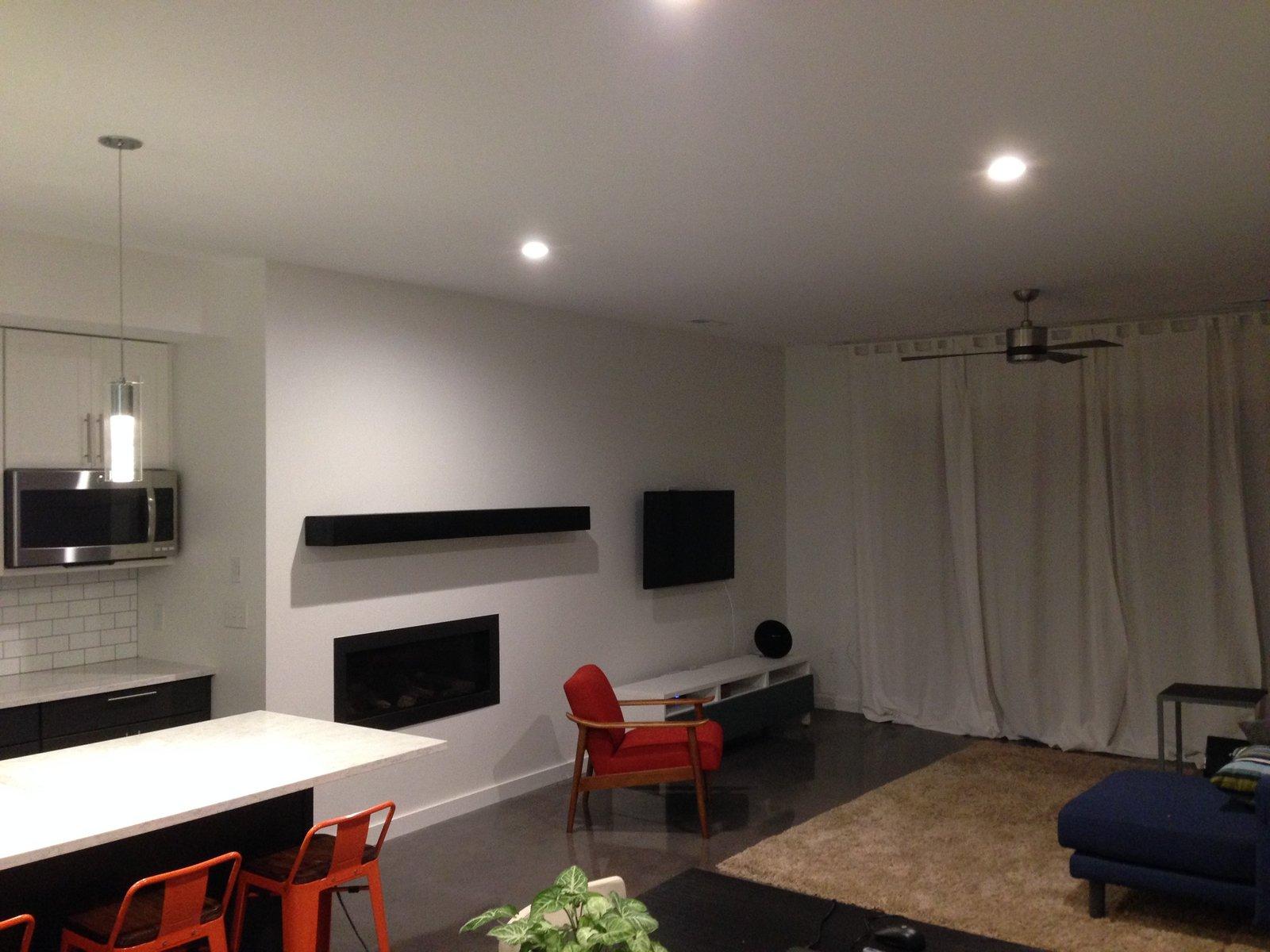 Open kitchen, dining, living room  Salzhaus