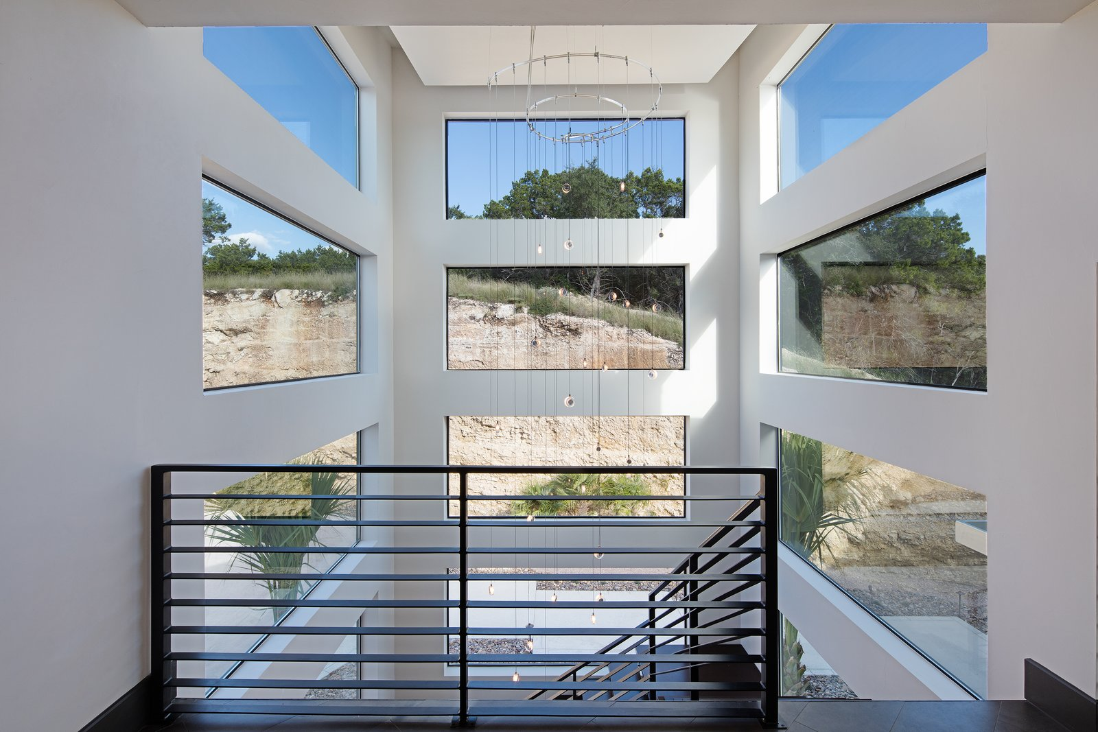 STAIRS  ALTURA HOUSE by OSCAR E FLORES DESIGN STUDIO