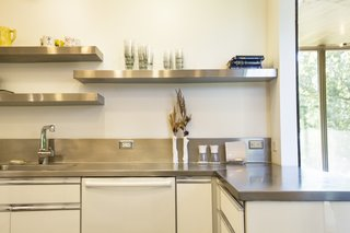In A Modern Home The Illinois River Valley Kitchen Worktop Is Seamless