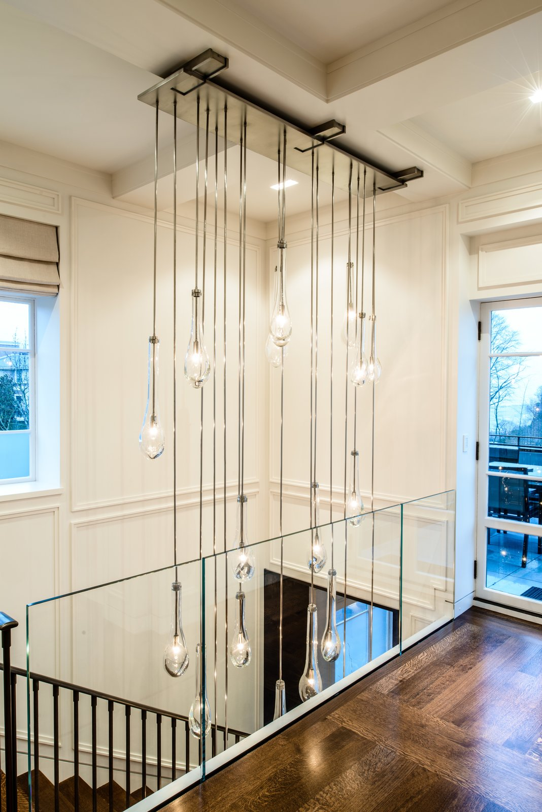 Duchess Mansion, custom entry chandelier  Duchess Mansion by Garret Cord Werner
